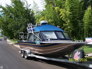 Used North West 22 Signature Series Jet Aluminum Fishing Boat For Sale