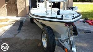 Used Beavertail Skiffs BTX 18 Flats Fishing Boat For Sale