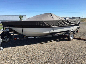 Used Monark King 190 Aluminum Fishing Boat For Sale