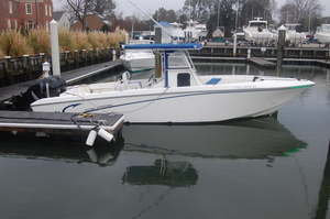 Used Fountain 32 Center Console Saltwater Fishing Boat For Sale