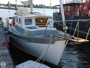 Used Fales 32 Navigator Motorsailer Sailboat For Sale