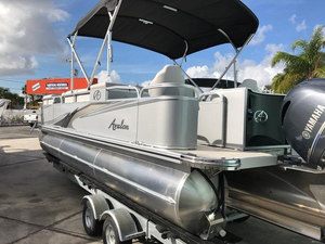 New Avalon Fish Pontoon Boat For Sale