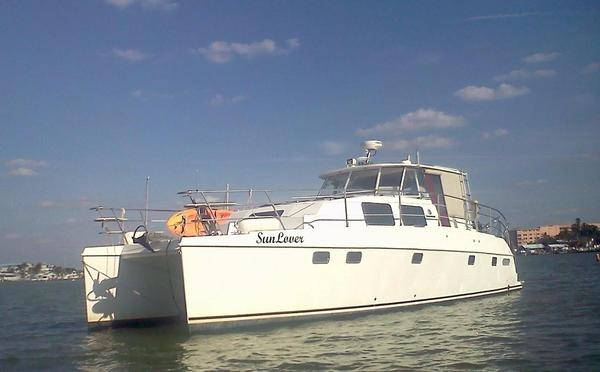 Used Endeavour Catamaran 44 Power Cat Power Catamaran Boat For Sale