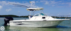 Used Hydra-Sports 230 WA Walkaround Fishing Boat For Sale