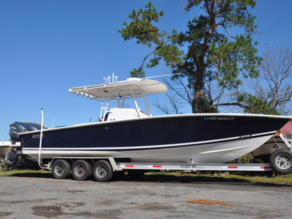 Used Jupiter Center Console Fishing Boat For Sale