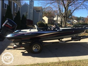 Used Triton TR-186 Bass Boat For Sale
