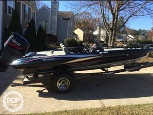 Used Triton TR-186 Bass Boat For Sale