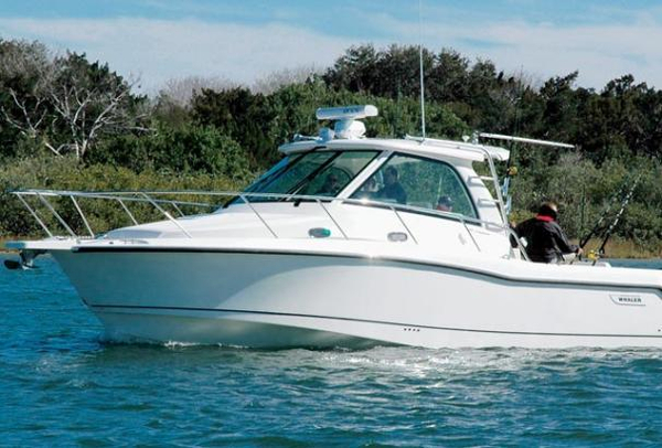 Used Boston Whaler 345 Conquest Saltwater Fishing Boat For Sale