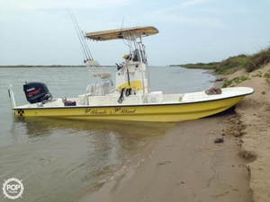 Used Explorer 25 Flatsmaster Center Console Fishing Boat For Sale