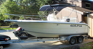 Used Sea Fox 210 Center Console Fishing Boat For Sale