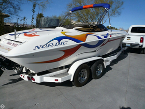 Used Nordic Boats Rage Open 24 High Performance Boat For Sale