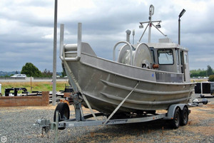 Used Schreib 24 Aluminum Bowpicker Cruiser Boat For Sale