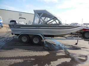 Used Nw Jet 19 River Aluminum Fishing Boat For Sale
