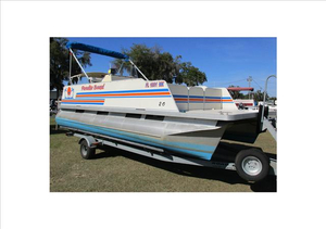 Used Fiesta 20' Pontoon Boat For Sale