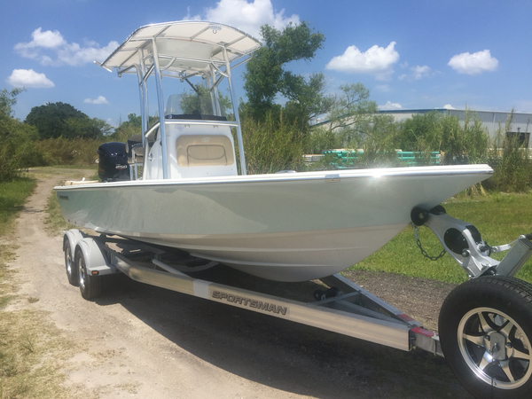 New Sportsman Boats 234 Tournament Bay Boat For Sale