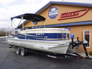 Used Manitou Oasis V22 Tritoon Pontoon Boat For Sale
