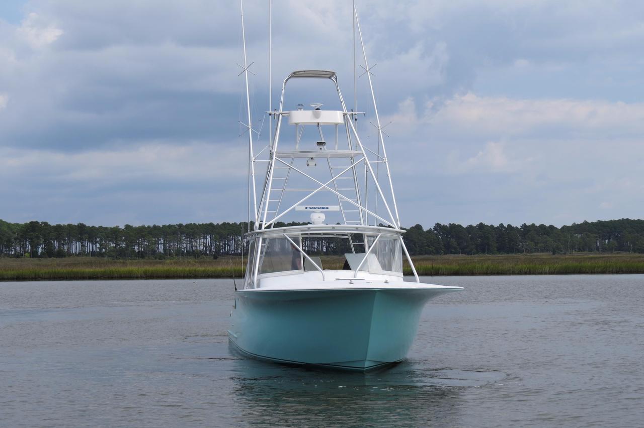 2003 used capps custom carolina 40 express sportfisherman for Express fishing boats for sale