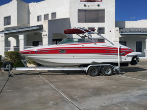 Used Crownline 252 EX Deck Boat For Sale