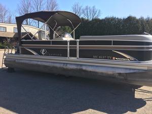 Used Premier 240 SunSation Pontoon Boat For Sale