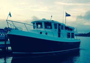 Used American Tug 41 Pilothouse Trawler Pilothouse Boat For Sale