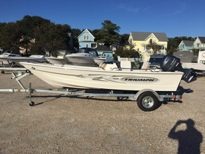Used Triumph 170 DC Dual Console Boat For Sale