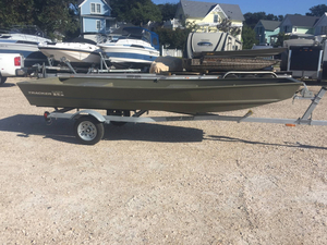 New Tracker Topper 1542 Riveted Jon Utility Boat For Sale