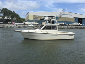 Used Shamrock 270Mackinaw Saltwater Fishing Boat For Sale