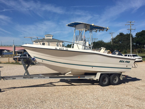 Used Sea Pro 210CC Center Console Fishing Boat For Sale