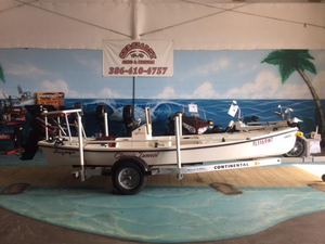 Used Majestic Savage Creek Flats Fishing Boat For Sale