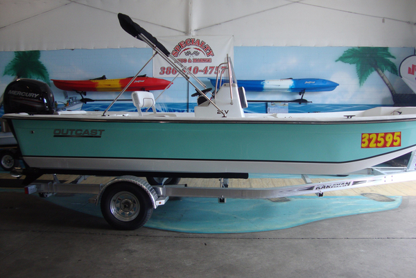 New Outcast 21FT V Skiff Boat For Sale