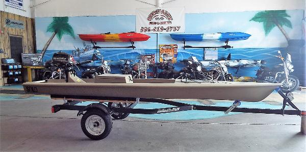New Solo Skiff With Mercury 5hp Skiff Boat For Sale