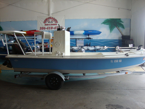 Used Dynasty POLOR Flats Fishing Boat For Sale