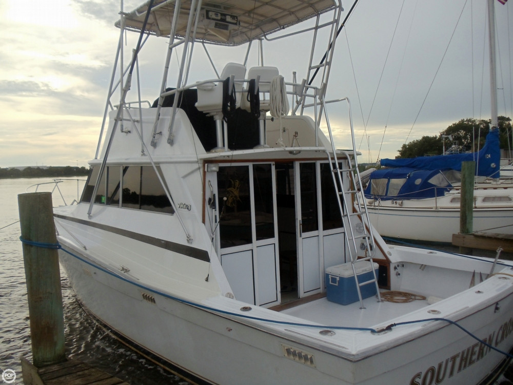 Used Viking 35 Sports Fishing Boat For Sale