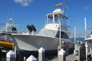 Used Jersey Dawn 36 Convertible Fishing Boat For Sale