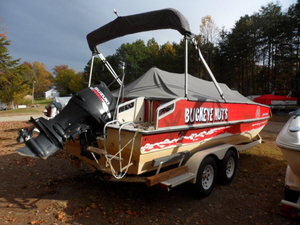 Used Sea Ark Suntastic Bowrider Boat For Sale