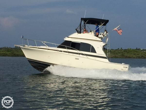 Used Bertram 33 Flybridge Cruiser II Sports Fishing Boat For Sale