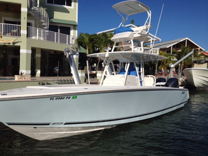 Used Jupiter 34' Sports Fishing Boat For Sale