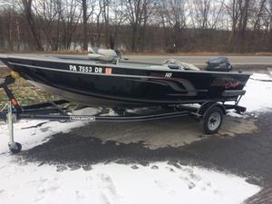 Used Alumacraft Escape 145 Tiller Sports Fishing Boat For Sale