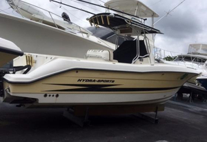Used Hydrasports Vector 2800 CC Saltwater Fishing Boat For Sale