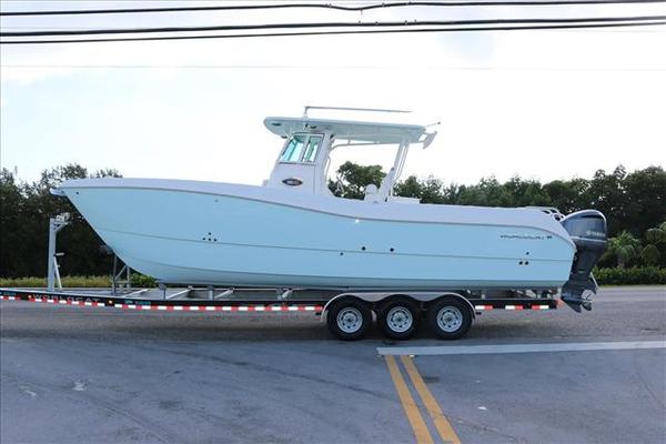 New World Cat 320 CC Power Catamaran Boat For Sale