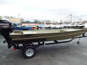 Used Lowe Roughneck 1655 BR Jon Boat For Sale
