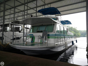 Used Burns Craft 50 V-Drive House Boat For Sale