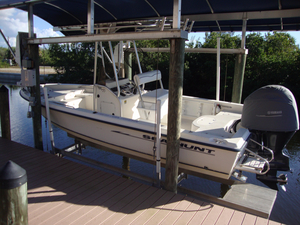 Used Sea Hunt 22 Navigator Saltwater Fishing Boat For Sale