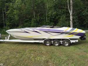 Used Nordic Boats Heat 28 Mid-Cabin Open Bow High Performance Boat For Sale