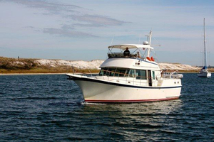 Used Hatteras 42 Long Range Cruiser LRC Trawler Boat For Sale