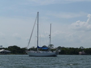 Used Nautical Developments Corp Stevens 56 Center Cockpit Sailboat For Sale