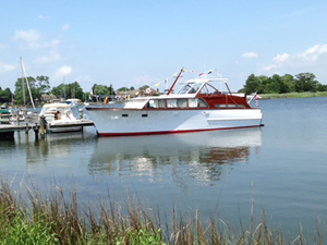Used Custom Double Cabin Cruiser Boat For Sale