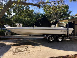 Used Shearwater 22 TE Bay Boat For Sale