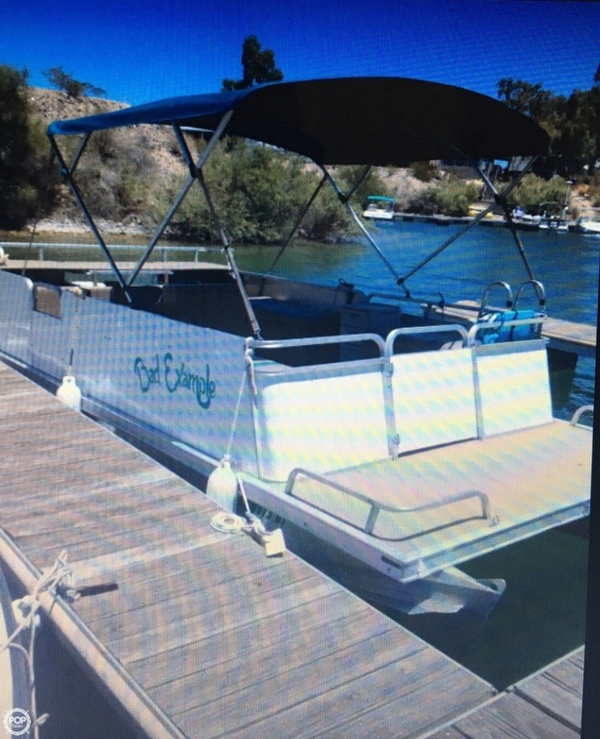 Used Ercoa 19 Ensign Pontoon Boat For Sale