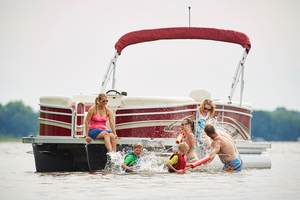 New Palm Beach 220 Ultra RF Pontoon Boat For Sale